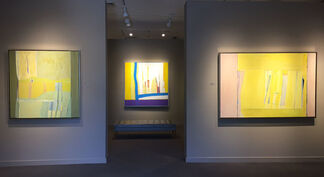 Lee Hall: A Memorial Exhibition, The Last Paintings, installation view