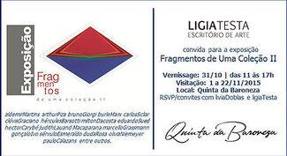 Fragmentos de Uma Coleção  l e ll, installation view