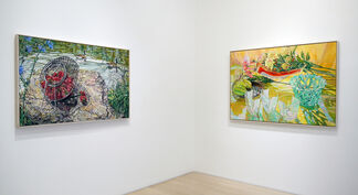 Janet Fish: Pinwheels and Poppies, Paintings 1980 - 2008, installation view