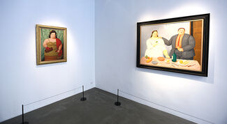 Fernando Botero - Everyday's Poetry - Scenes from the fullness of life, installation view