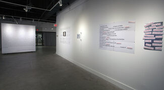 Incision, installation view