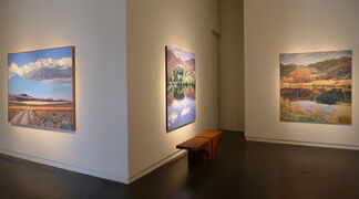 """Sheila Gardner """"Gateways - Memorial Retrospective"""", installation view"""
