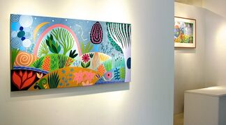 Lisa Houck:  Recent Paintings, Watercolors, Mosaics and Prints, installation view