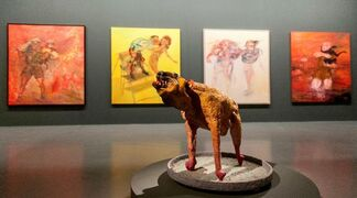 Painter and Painting: A Mehmet Güleryüz Retrospective, installation view