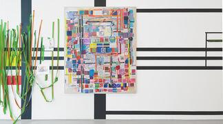 Franklin Evans: paintingassupermodel, installation view