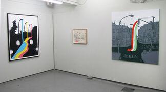 Floodlight - a solo exhibition by Søren Behncke, installation view