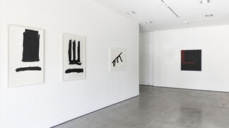 Robert Motherwell: Black, installation view
