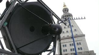 Bill Fontana: Panoramic Echoes, installation view
