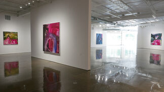 moving through, installation view