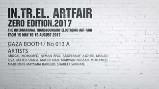 Eltiqa at The International Transboundary Electronic Art-Fair, installation view