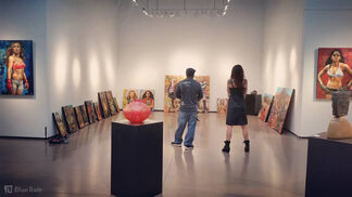 Fight Like a Girl, installation view