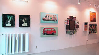 Greetings From New York City: Jonathan LeVine Gallery Visits Berlin, installation view