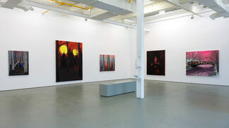 Kim Dorland, I've seen the future, brother, installation view