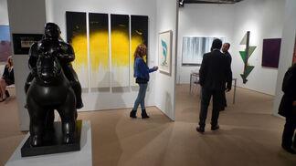 Sundaram Tagore Gallery at Downtown Fair 2014, installation view
