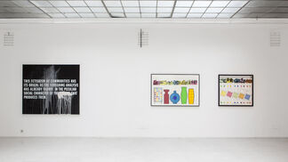 Subtle Patterns of Capital, installation view