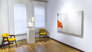 All Her Number'd Stars: Paintings, Drawings and Sculptures by Jason Noushin, installation view