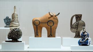 Picasso Sculpture, installation view