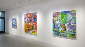 Marie Thibeault: engineering, selected paintings, installation view