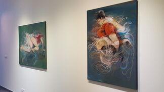 Stéphanie Leblon 'Fused Motions', installation view