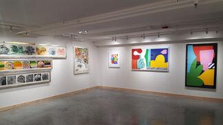 Tandem Press at IFPDA Fine Art Print Fair Online Fall 2020, installation view