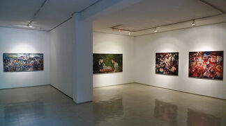 an.chored, installation view