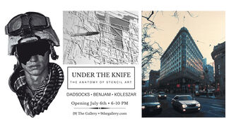 Under the Knife: The Anatomy of Stencil Art, installation view