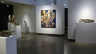 New Work by Susan Collett, Neil Clifford and Christopher Langstroth, installation view