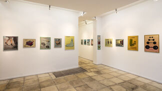 "Jacques Charlier ""Peintures irrésistibles"", installation view"