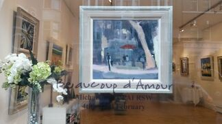 Beaucoup d'Amour, installation view