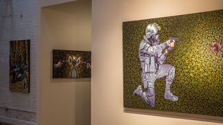 """""""Street Wiser"""" with Stephen Hall & Rob Plater, installation view"""