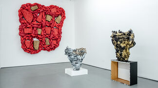 Cups and Grids, installation view