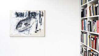 CHRISTIAN LINDOW curated by Fabrice Stroun, installation view