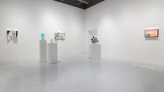 Glimpsed Through Liquid, installation view
