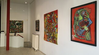 """Timothy ARCHER """"DIDASCALIES"""", installation view"""