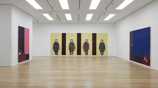 Djamel Tatah, installation view
