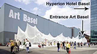 Hyperion Basel during Art Basel, Basel Switzerland, installation view