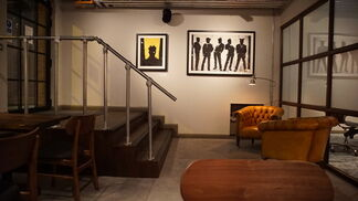 Richard Hambleton - The Curtain Club, installation view