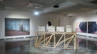 Now, Here, Nowhere 展, installation view