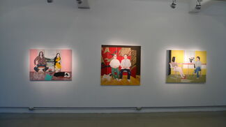 """""""Gesichtslandschaften""""- Solo exhibition by KUO, Chiuh-Hung&WU, Yih-Han, installation view"""