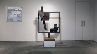 Richard Stankiewicz: Sumi Ink Drawings with Sculpture, installation view