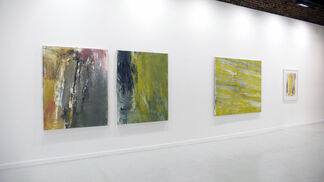 Laura Beard: Thick and Smooth, installation view