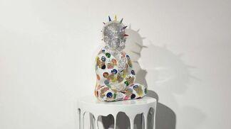 Buddha Goes Punk, installation view
