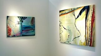 Susan Sharp:  Paintings & Works on Paper, installation view