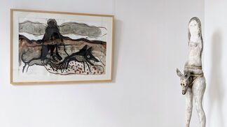 "Koenraad Tinel, ""Archangel"" (solo show), installation view"