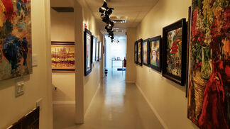 Modern Impressionists: William Vincent Kirkpatrick, Duaiv, and Elena Bond, installation view