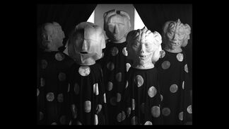 Marcel Dzama UNE DANSE DES BOUFFONS (OR A JESTER'S DANCE), installation view
