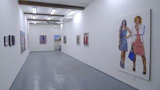 WALTER ROBINSON / Figure Studies, installation view