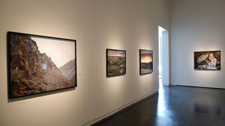"""Laura McPhee """"The Walls of the World"""", installation view"""
