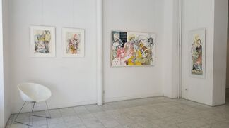 """Entre lineas"" Sergio MOSCONA, installation view"