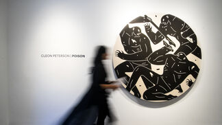 """""""Poison"""" A Solo Exhibition By Cleon Peterson, installation view"""